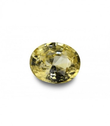 2.70 cts Unheated Natural Yellow Sapphire
