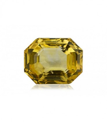 7.54 cts Unheated Natural Yellow Sapphire