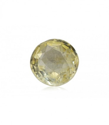 3.21 cts Unheated Natural Yellow Sapphire