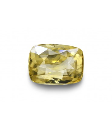 3.18 cts Unheated Natural Yellow Sapphire