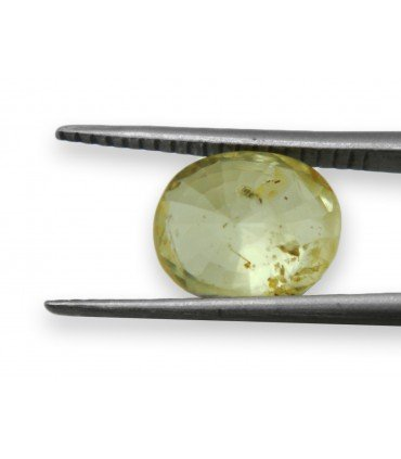 3.60 cts Unheated Natural Yellow Sapphire