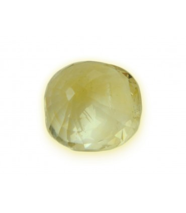 3.26 cts Unheated Natural Yellow Sapphire