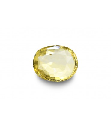 2.67 cts Unheated Natural Yellow Sapphire