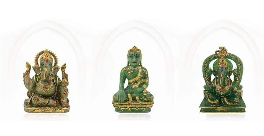Divine Gemstone Idols